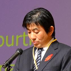 野田首相のメッセージ代読