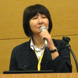 小島実行委員長「国際ユニヴァーサルデザイン宣言2012」