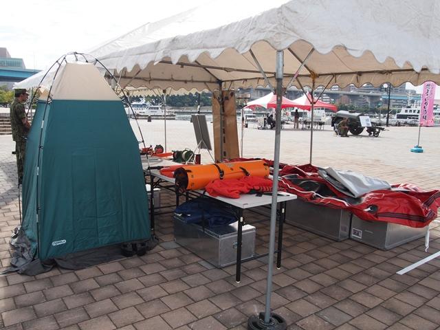 レスキュー機材、避難所設備など