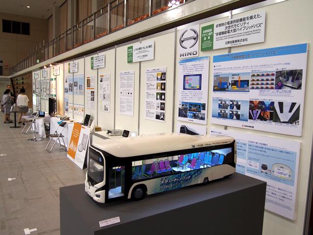 パネル展示の写真