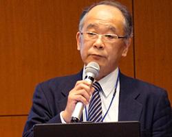 西村澄夫 IAUD副理事長、情報交流センター所長