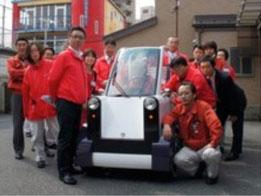 写真:電気自動車HOKUSAI