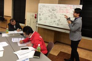 写真:墨田区の企業内ミーティング開催