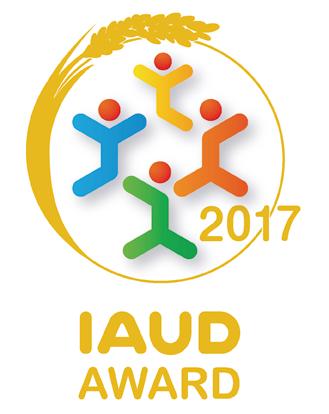 IAUDアウォード2017マーク