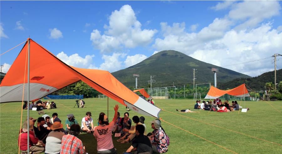 多様な参加者が集まる場「ユニバーサルキャンプ in 八丈島」